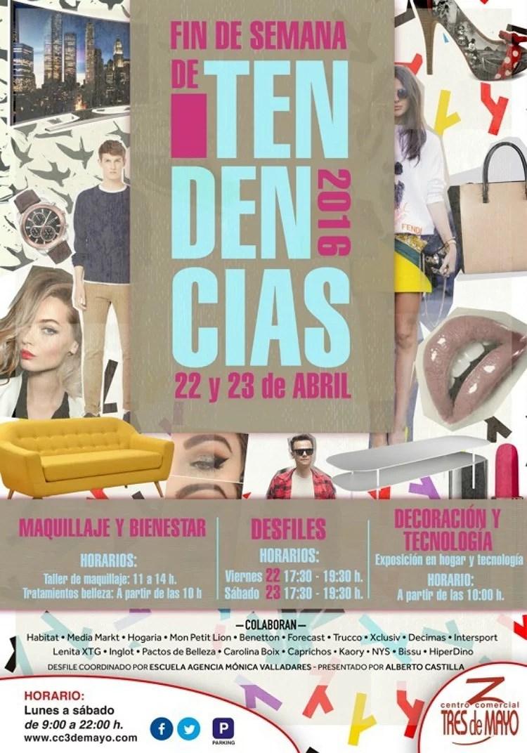 Fin de semana de moda y tendencias del C.C. 3 de Mayo