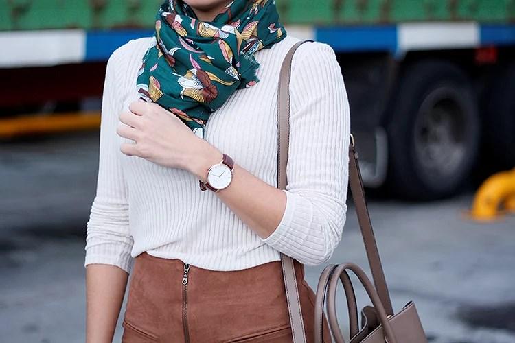 El accesorio imprescindible: el pañuelo