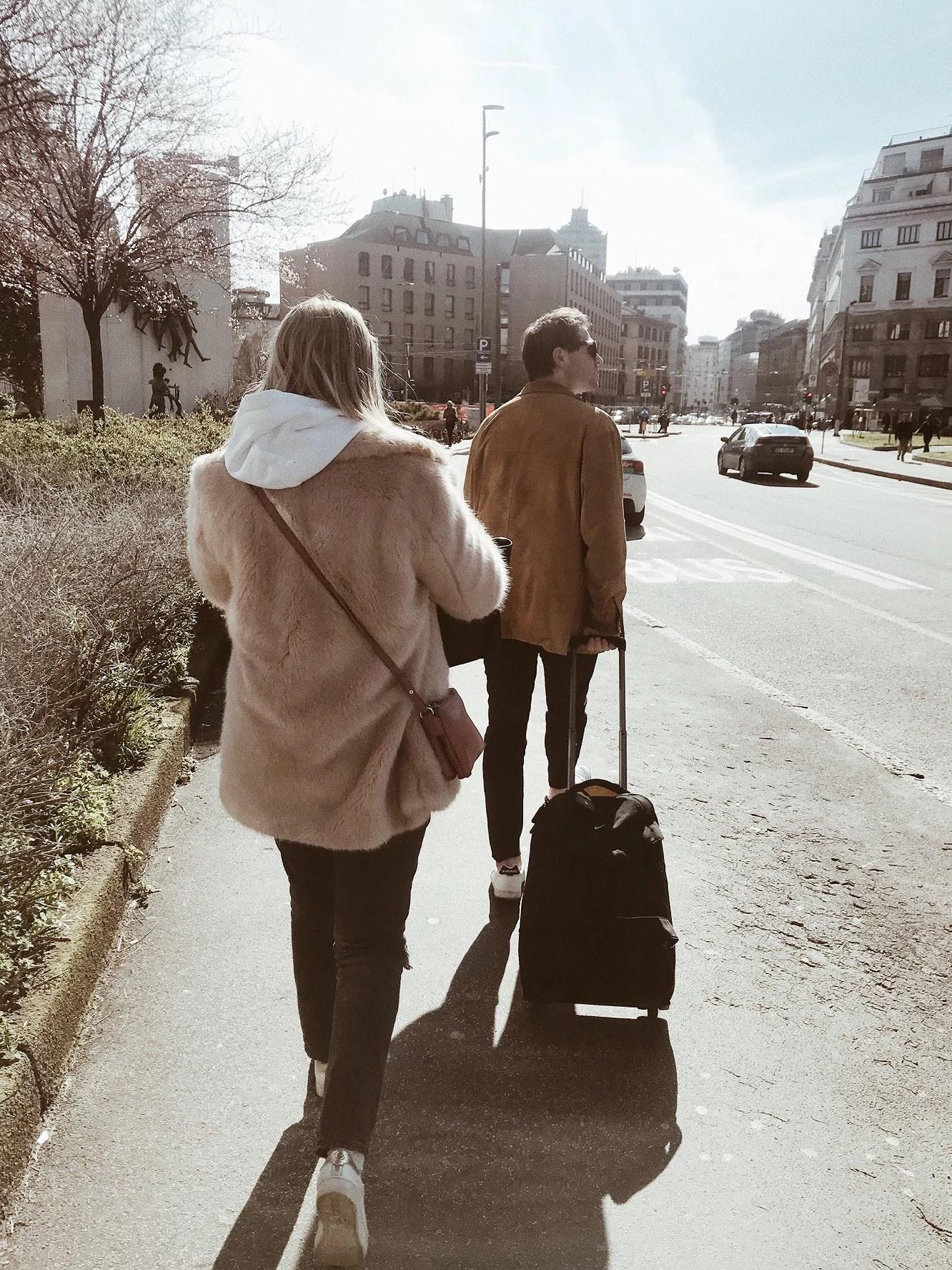 FÖRSTA TIMMARNA I MILANO