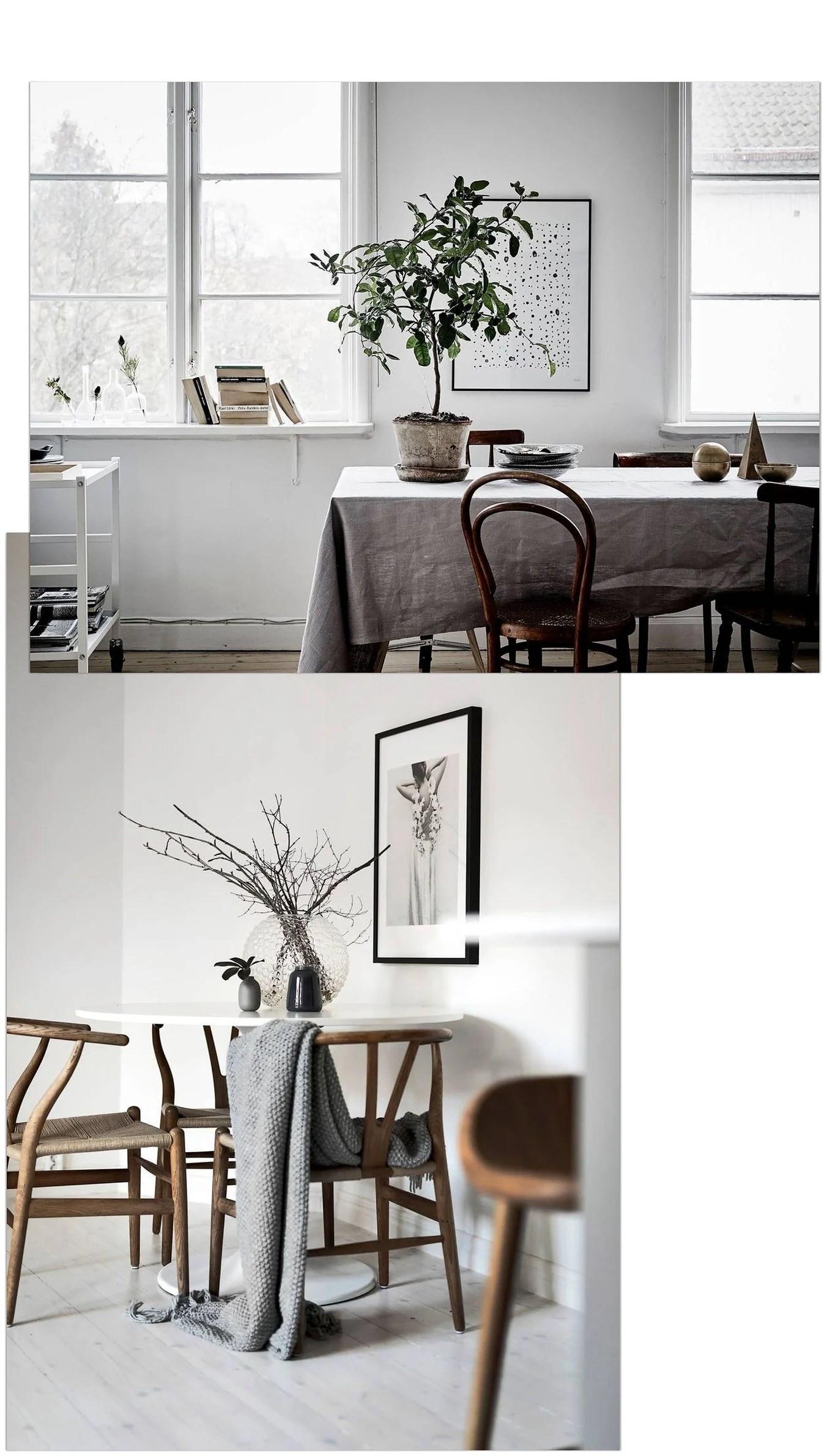 Matplatser och köksbord att inspireras av
