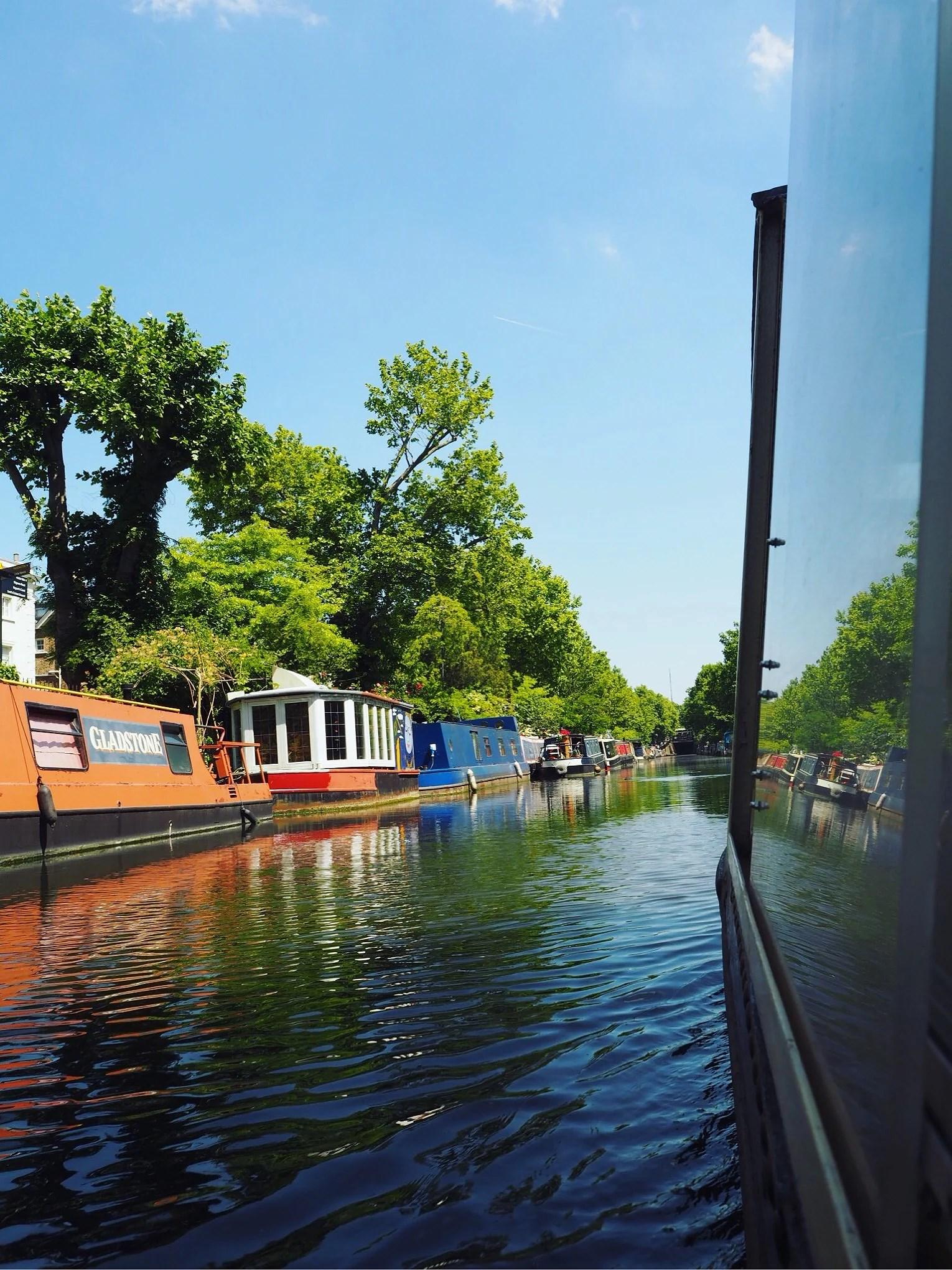 Båttur till Camden