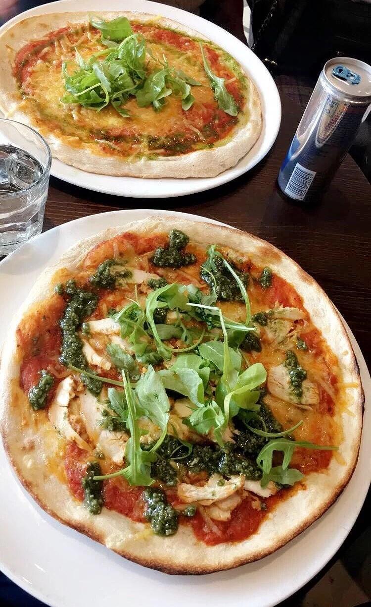 Nyttig pizza