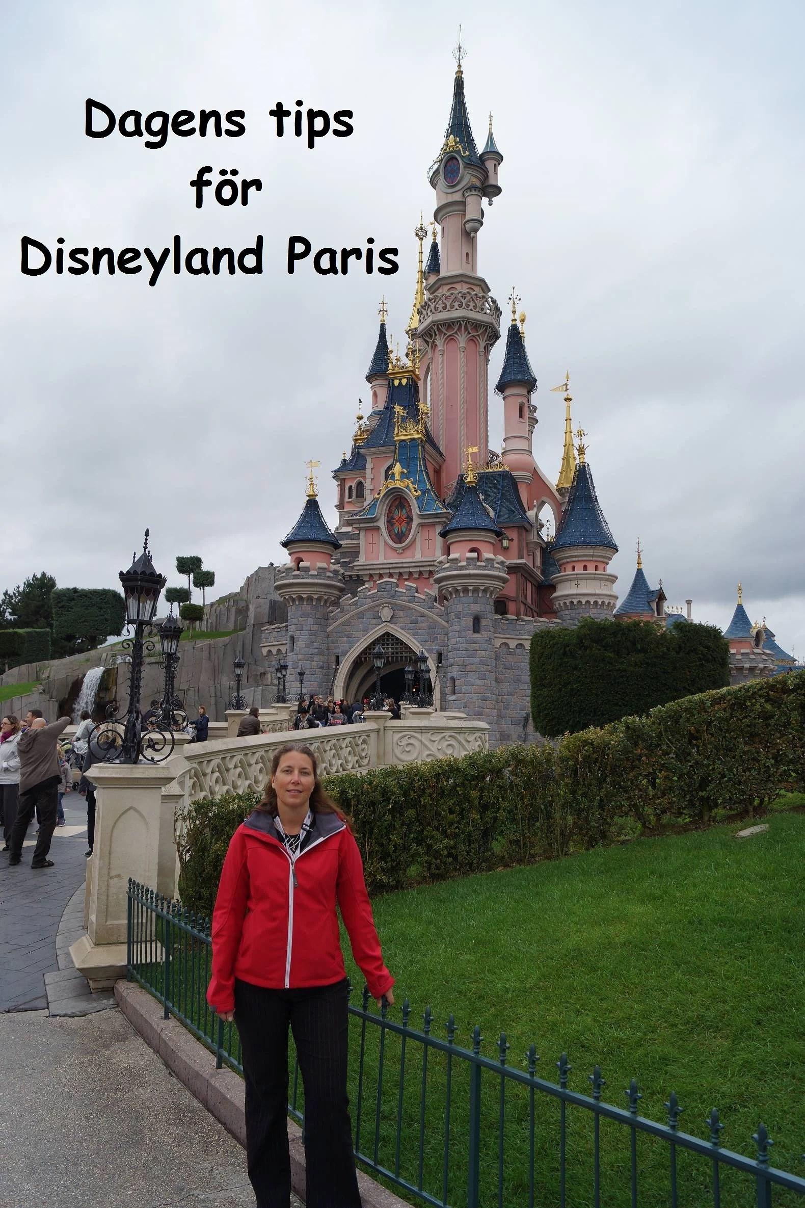 Dagens Tips för Disneyland Paris: Ta med mat
