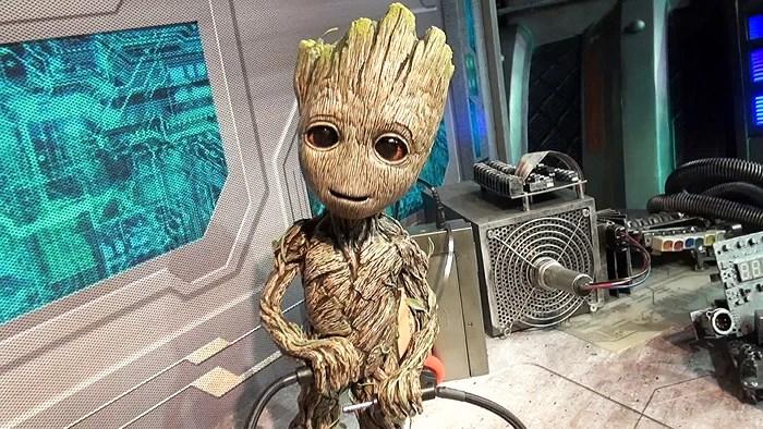 Meet & Greet med Groot och Star-Lord från Guardians of the Galaxy