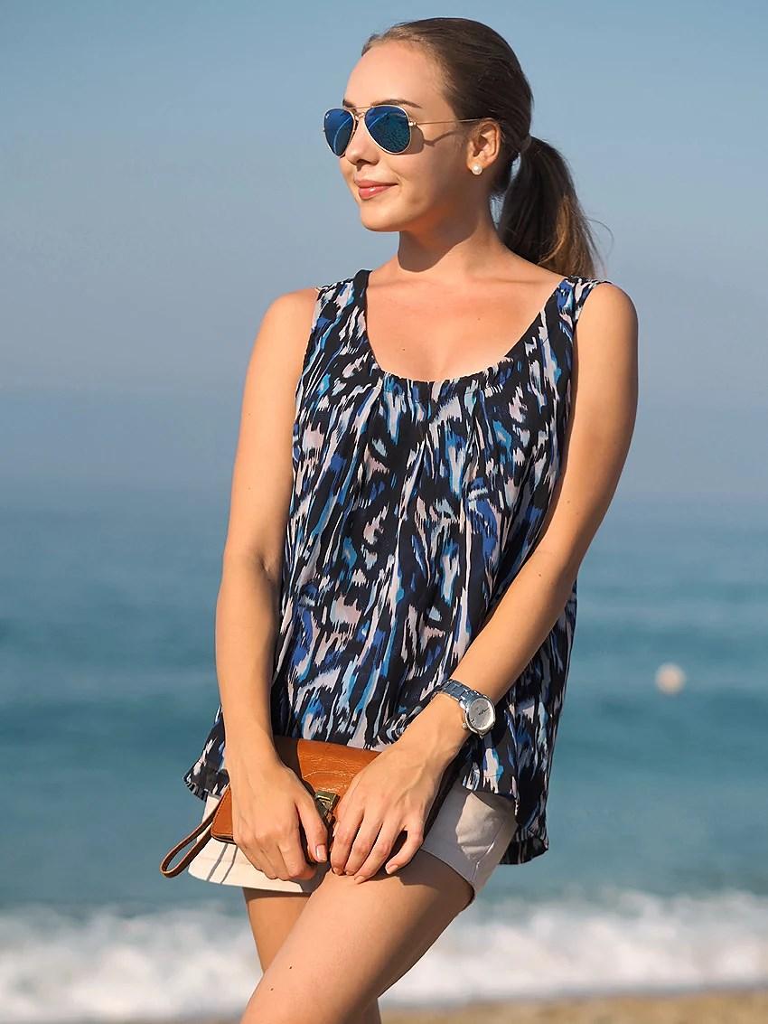 meren rannalla