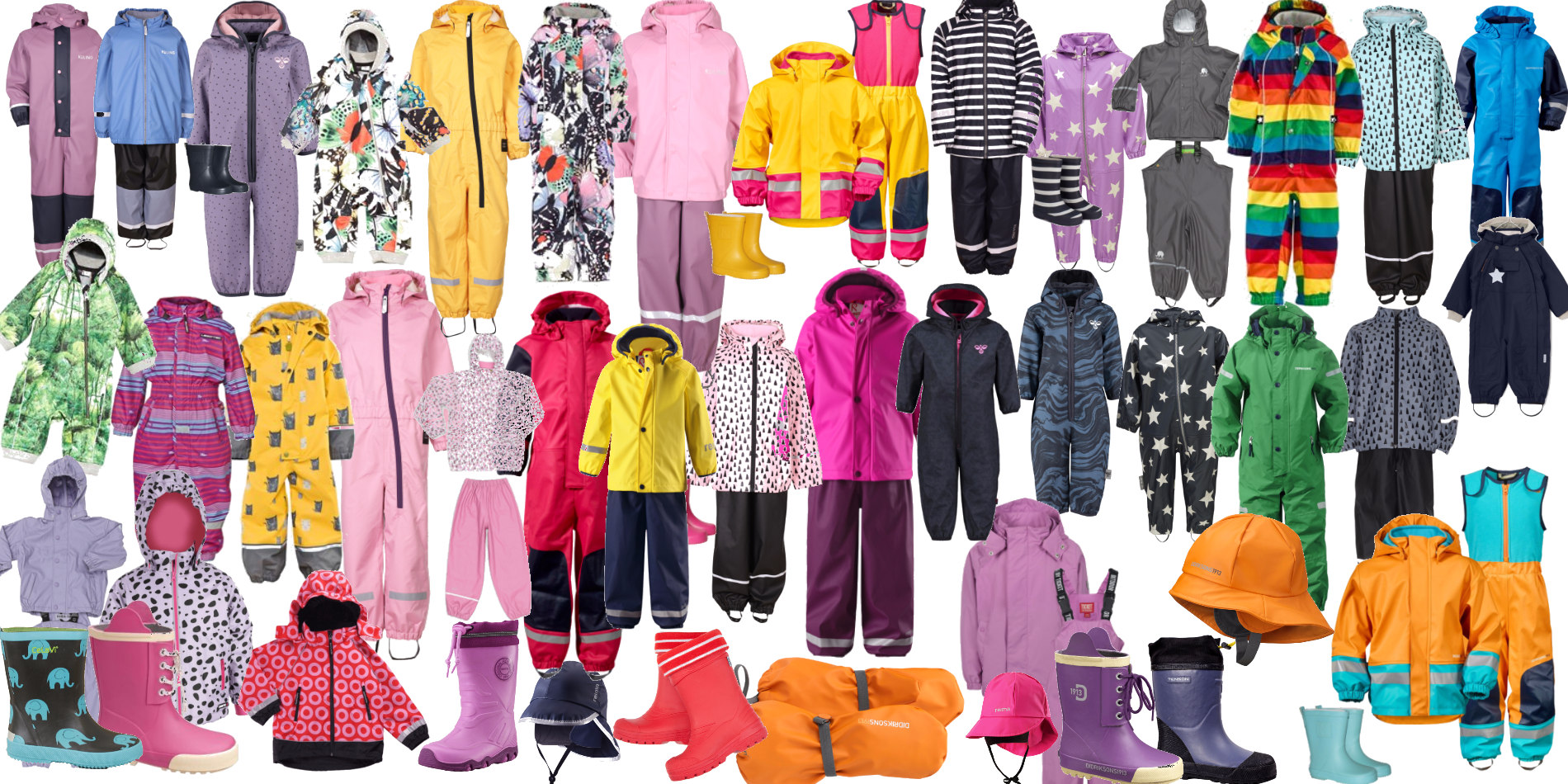 Regn & rusk - what to wear?