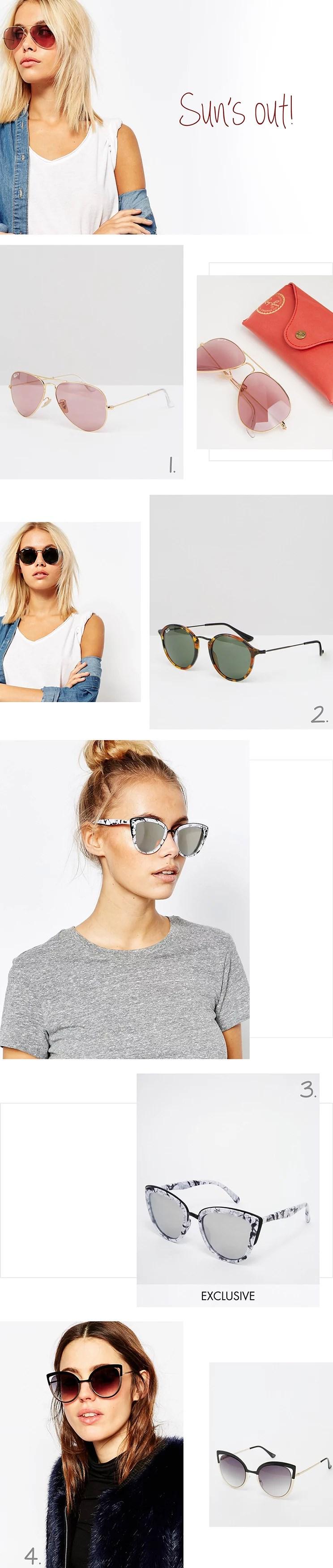 Solbriller til når solen driller