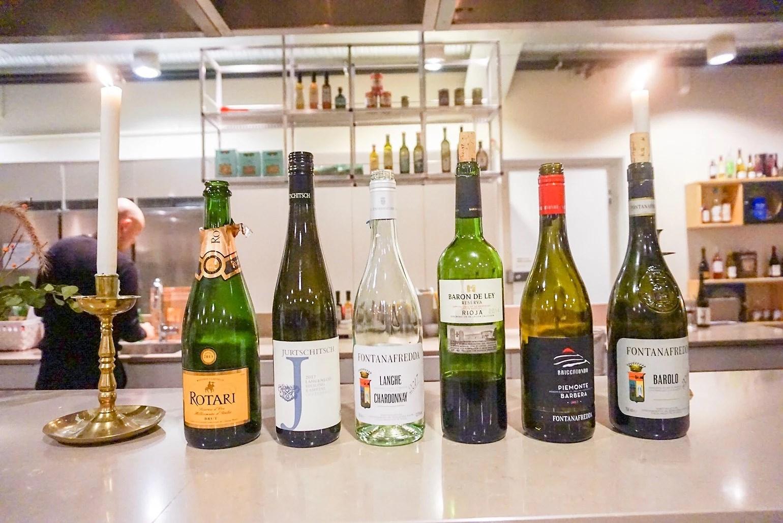 Vin från provningen