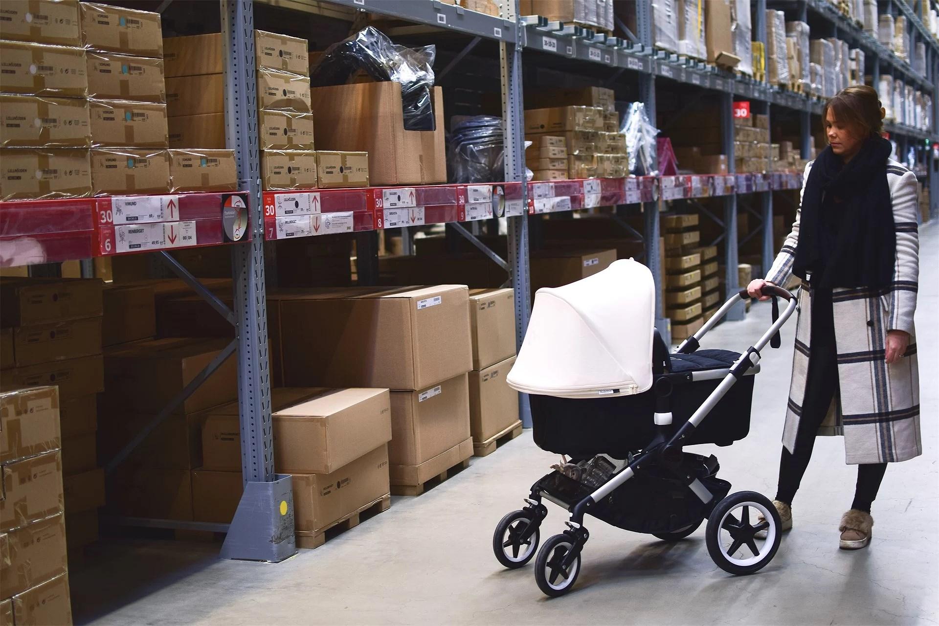 Ikea med lilleman