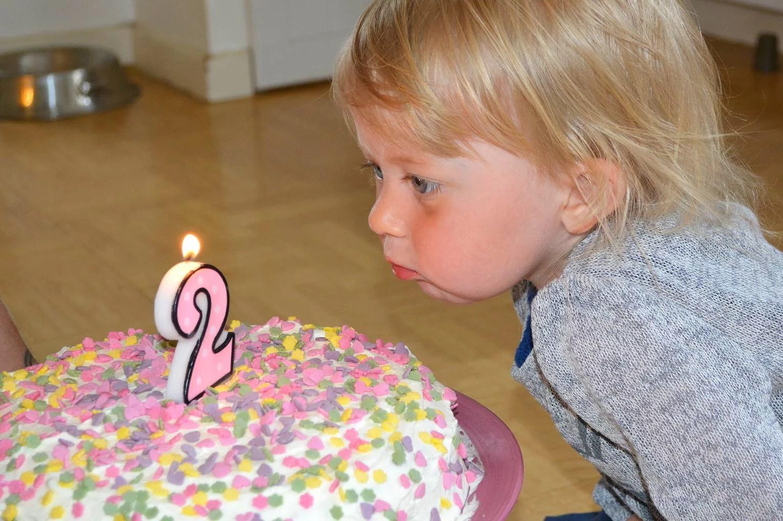 Grattis min fina dotter på din 2års dag