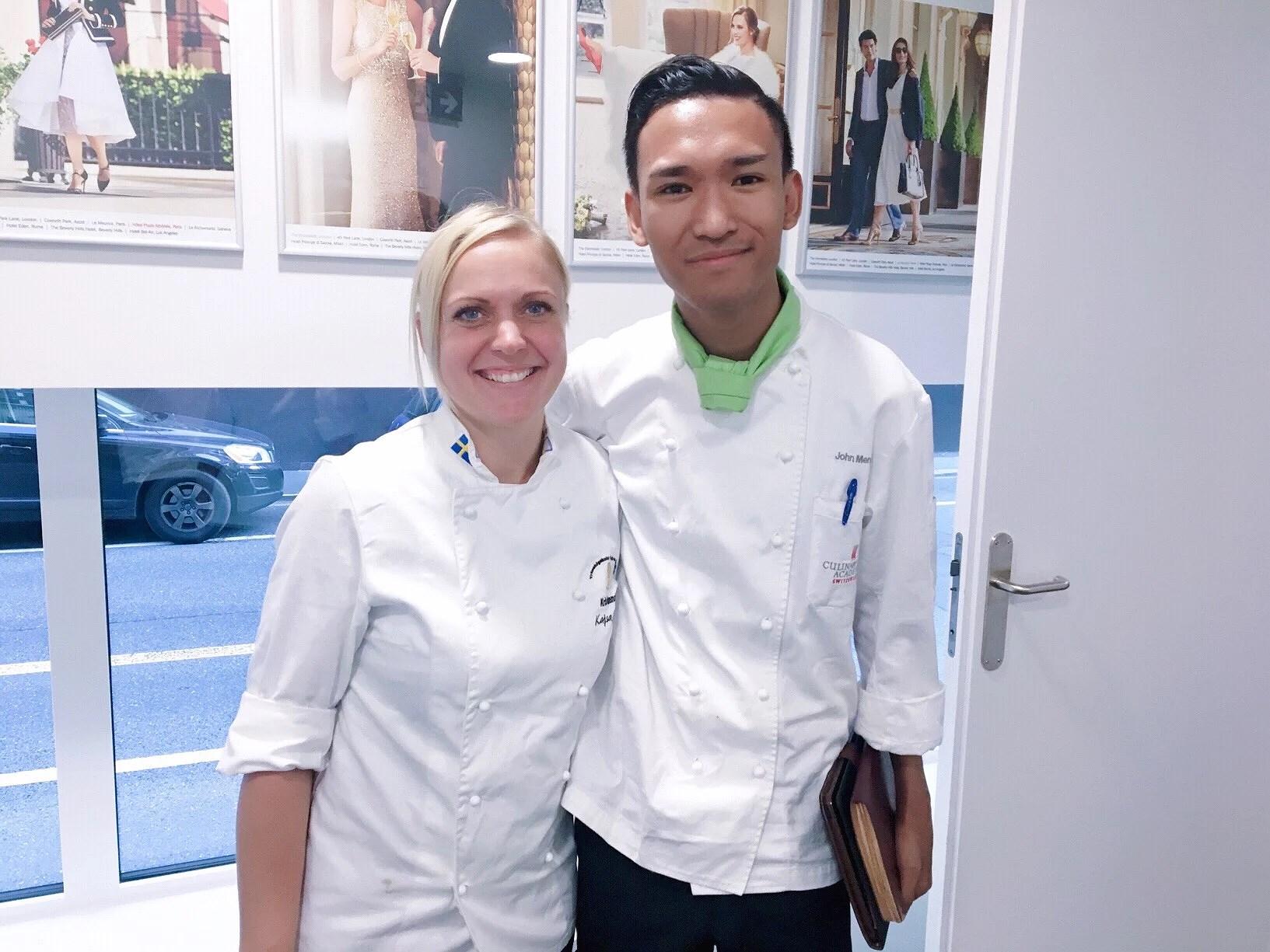 Kajsa Nilsson - Årets Konditor 2016 Visiting Culinary Arts Academy Switzerland