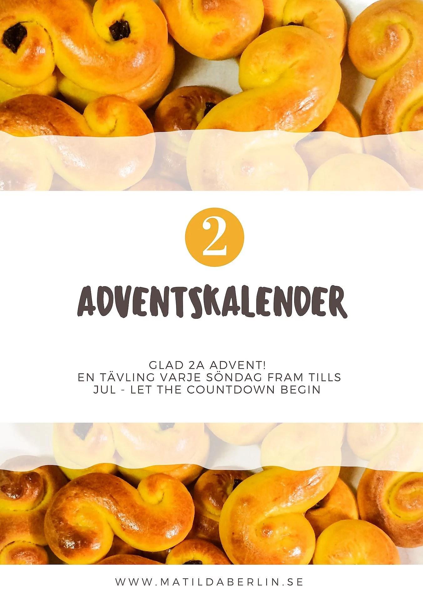 Adventskalender - lucka 2