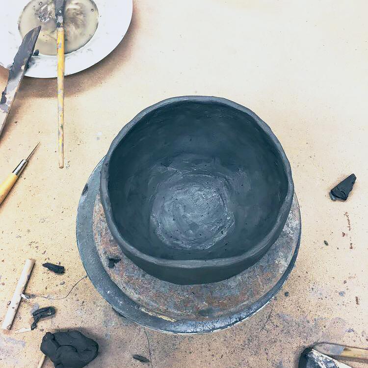 Nybörjare på keramik