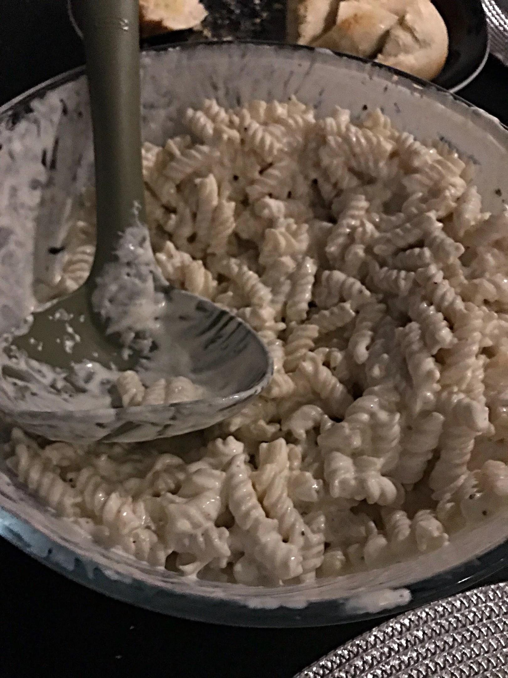 Krämig pasta ala Ida