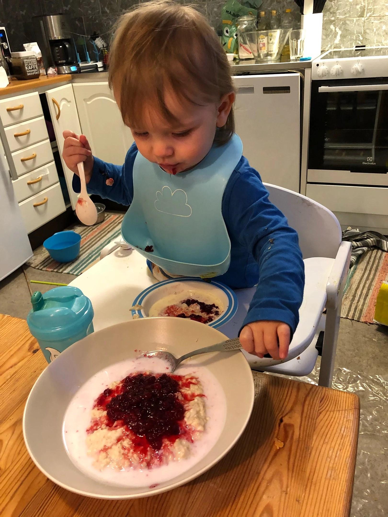 Grötig frukost