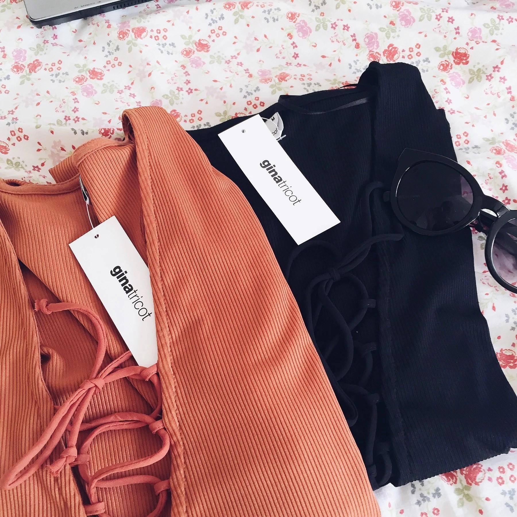 Sneak peak på dagens shopping