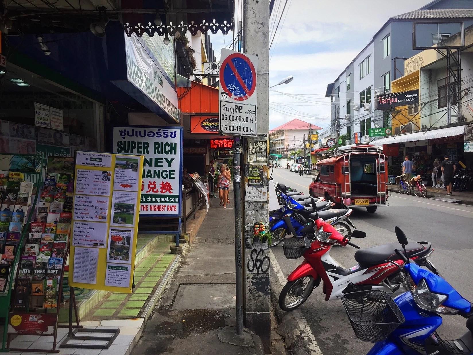 Vattenfall och thaimassage i Chiang Mai