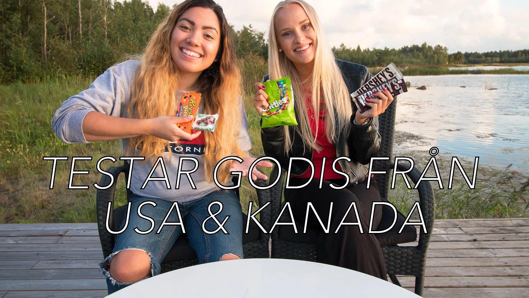 Testar amerikanskt & kanadensiskt godis