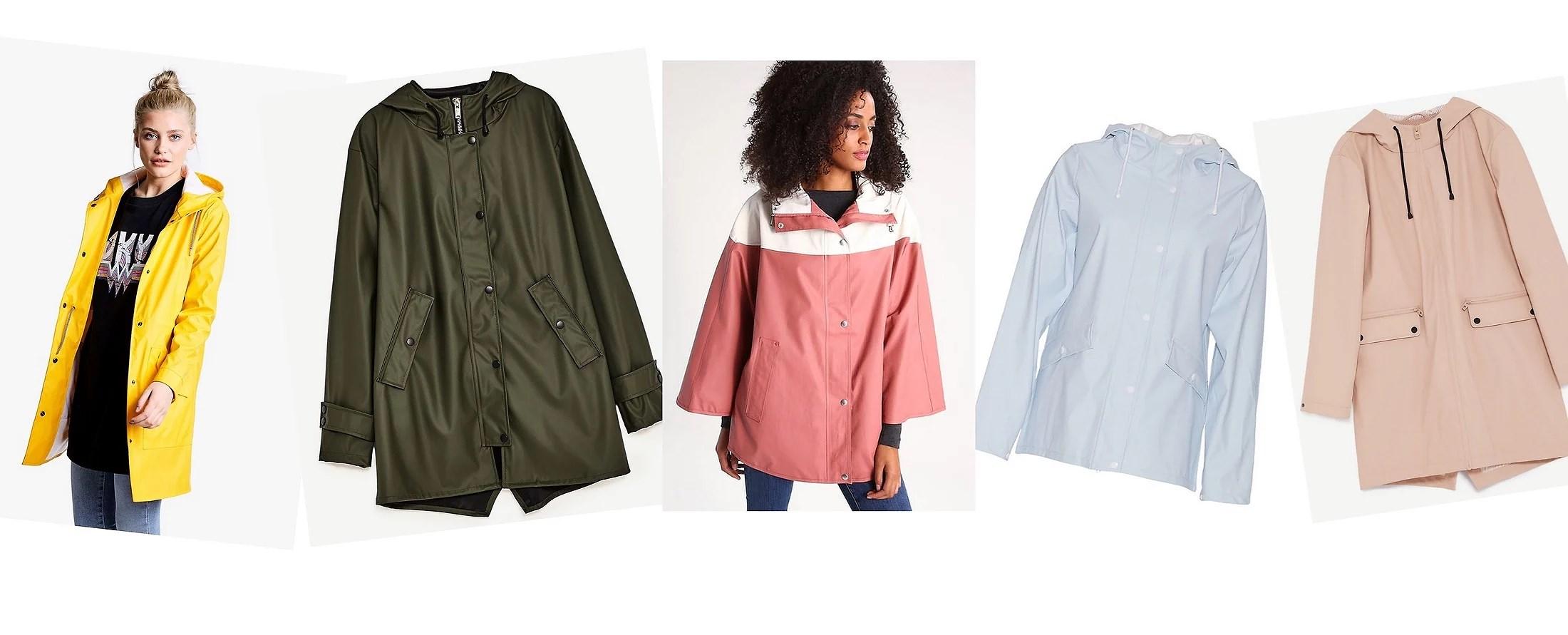 Raincoats, a fashion trend?