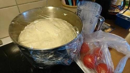Lärdom och pan pizza
