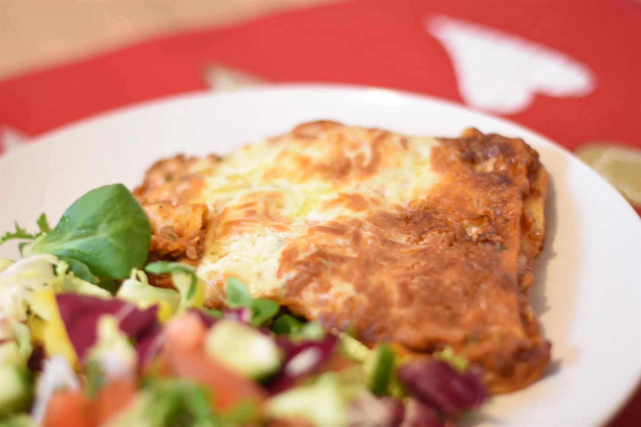 Lasagne - Dagens FLEXmåltid | 12 sp |