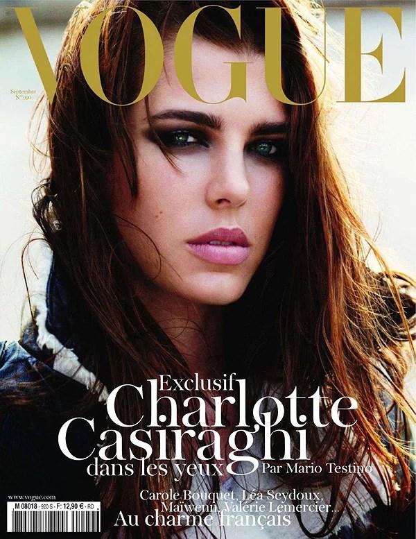 Charlotte Casiraghi para Vogue Paris Septiembre