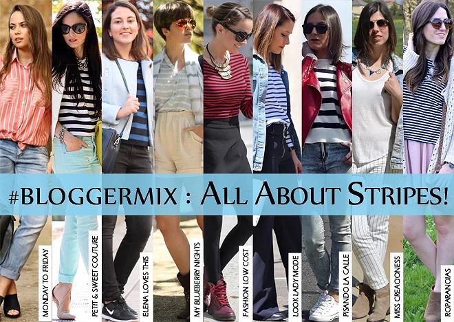 #BLOGGERMIX : All About Stripes!