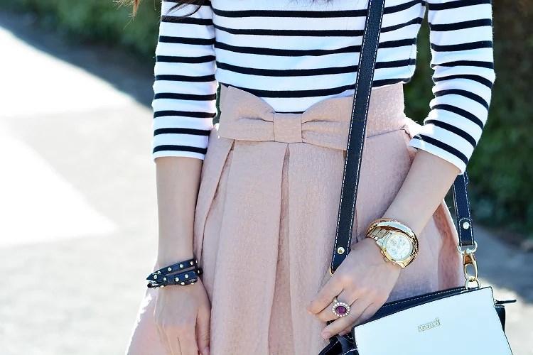 zara_chicwish_ootd_outfit_como_combinar_stripes_falda_07