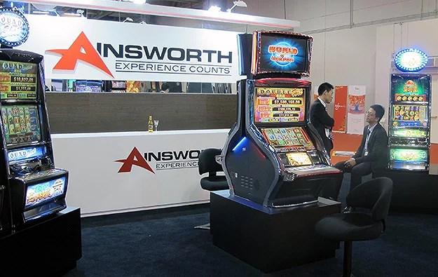 Recension av casino spelutvecklare Ainsworth
