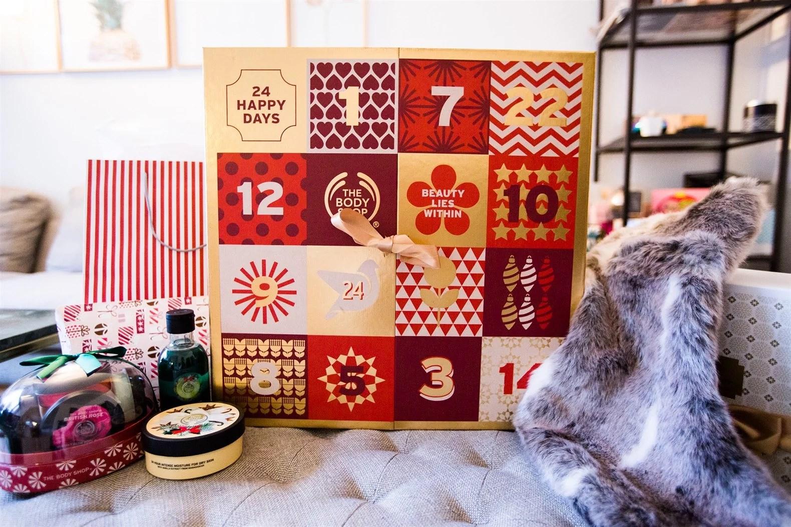 The Body Shop Christmas Calendar