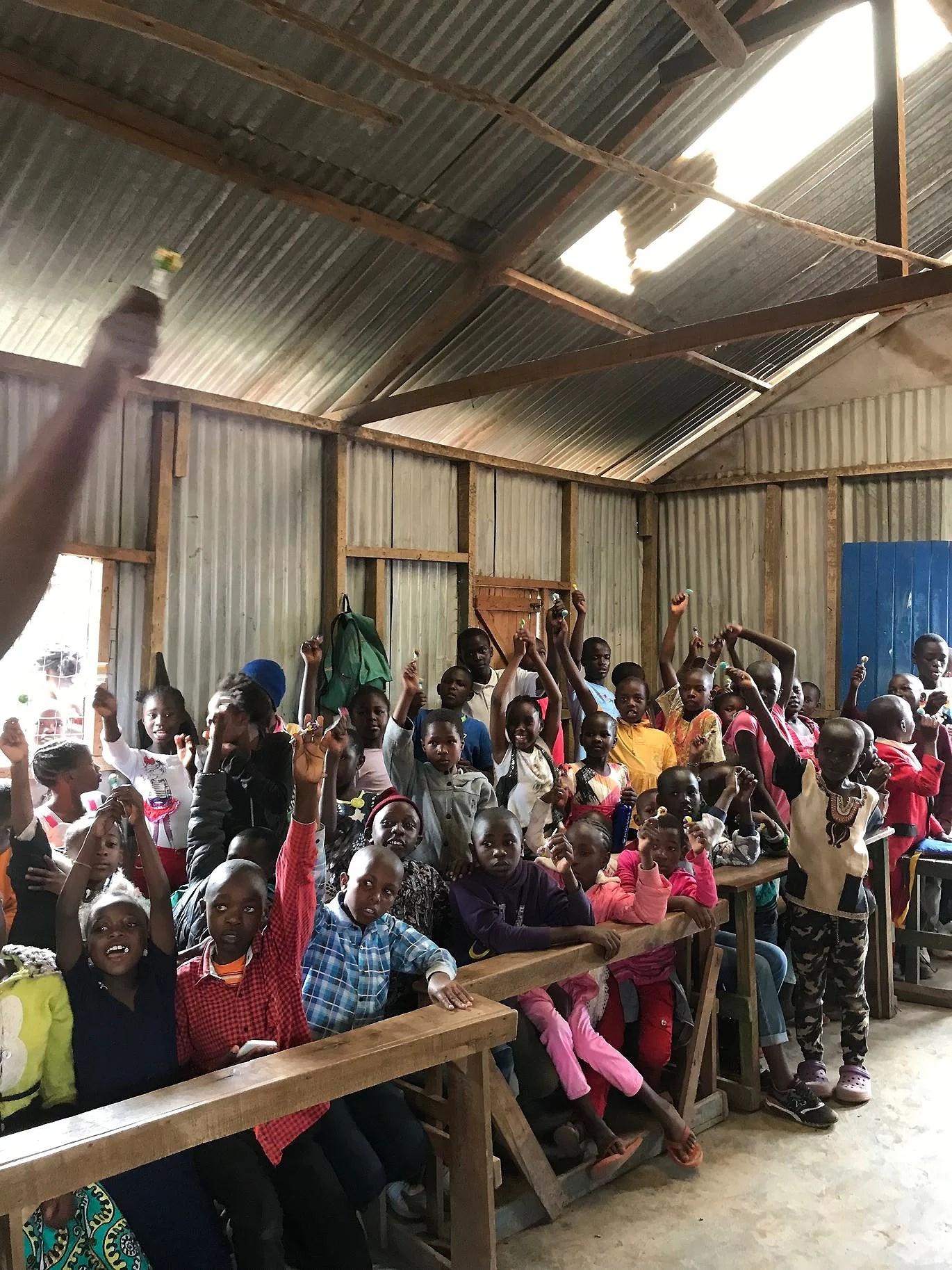 handlade åt 400 barn