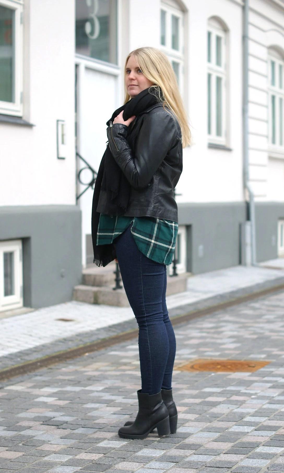 Aalborg-modeblogger-Aalborgmodeblogger-Aalborgmodeblog-It's My Passions-Julie Mænnchen, H&M, H&M ternet skjorte