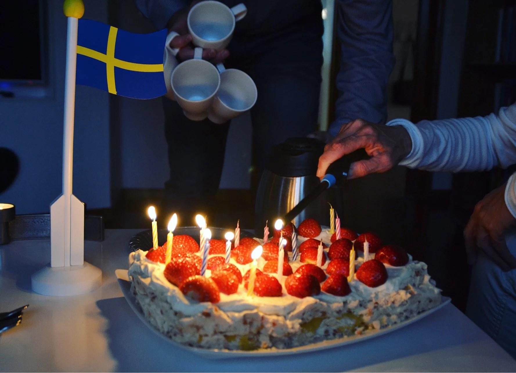Finaste svärmors födelsedag
