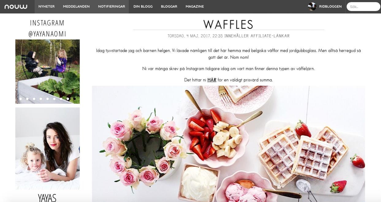 Mina topp 5 bloggar