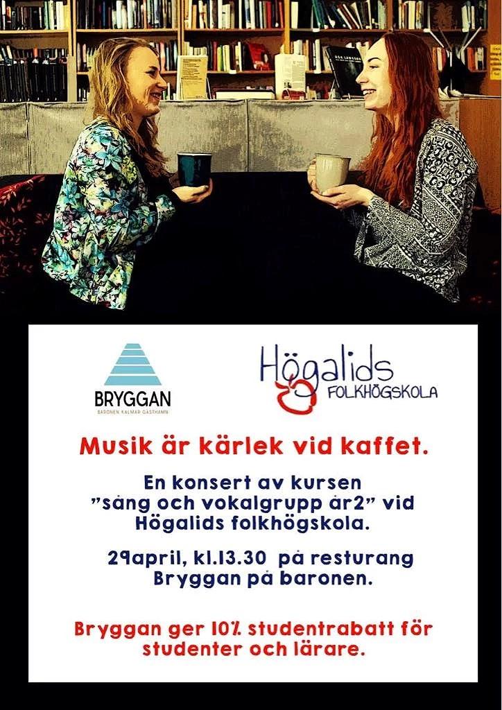 Konsert på Bryggan i Kalmar