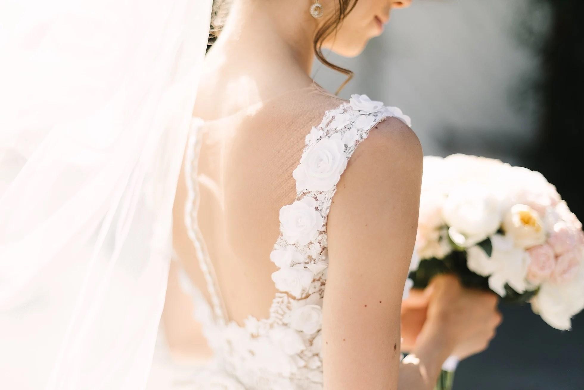 Detaljer fra bryllupet vårt