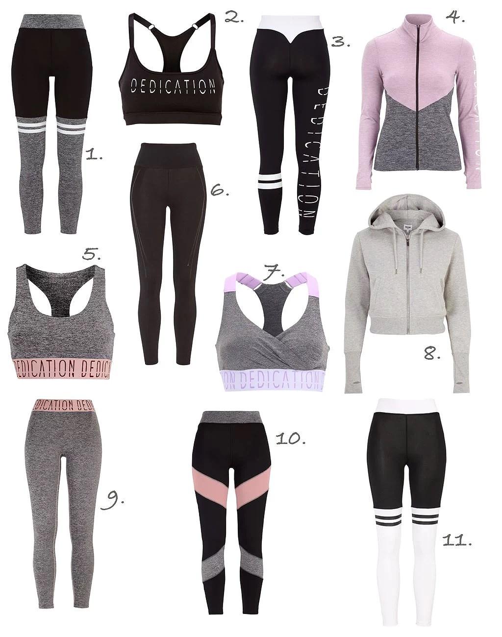 Snygga träningkläder till budget priser