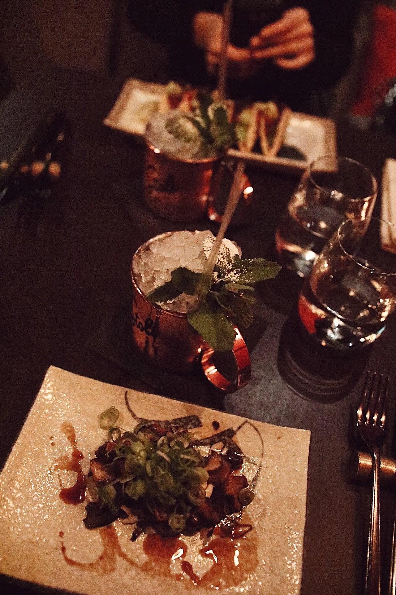 Aw och middag på Miss Voon