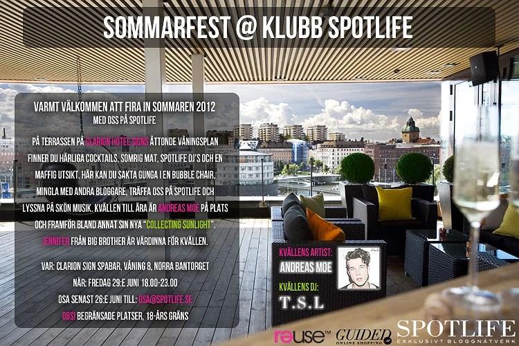 Sommarfest @ Spotlife