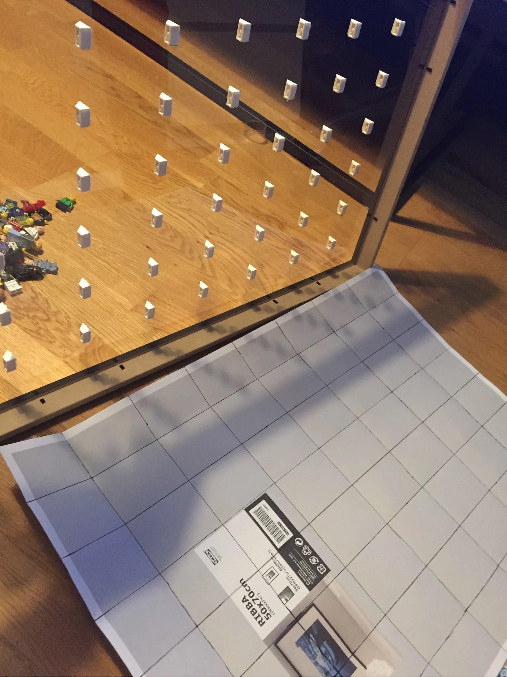 DIY LEGOTAVLA