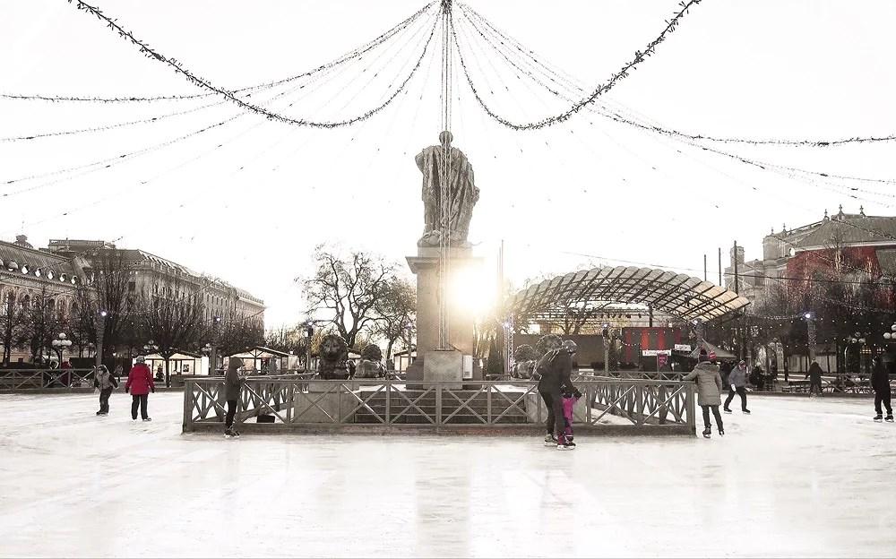 Tredje advent - julmarknad i Gamla Stan
