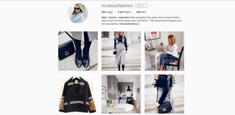 Inspireras till din business outfit på Instagram