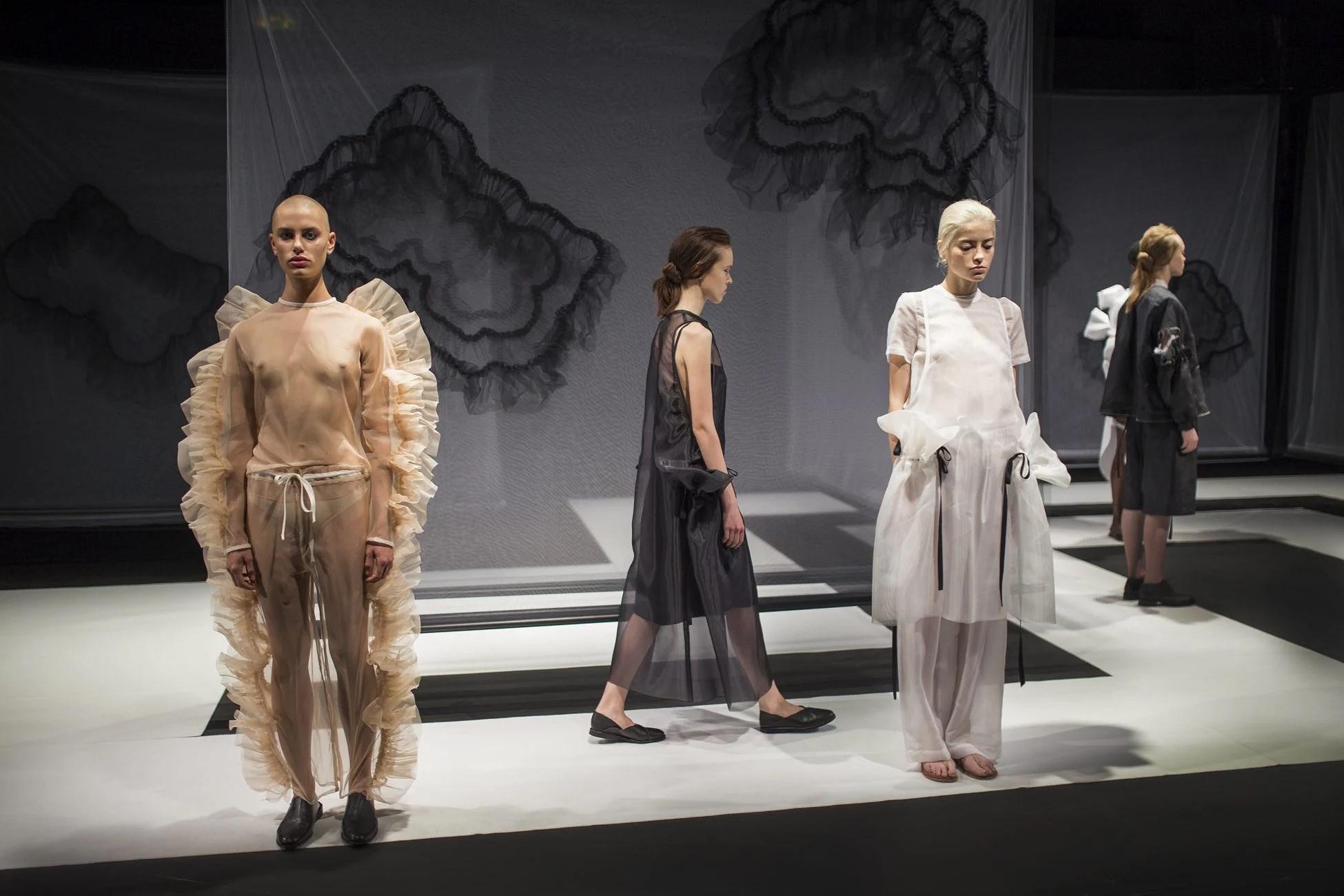 Roberts Wood. London Fashion Week