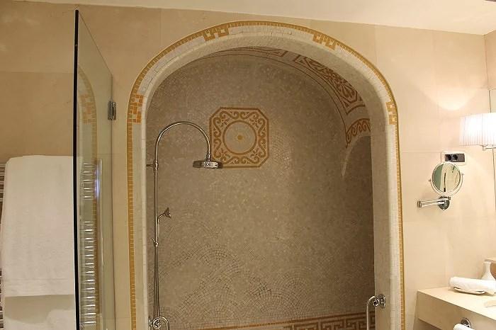 Suites con baños romanos. Ritz Barcelona