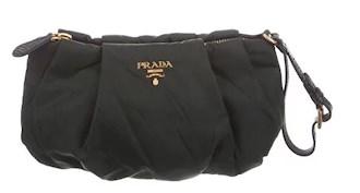 black prada clutch under $250