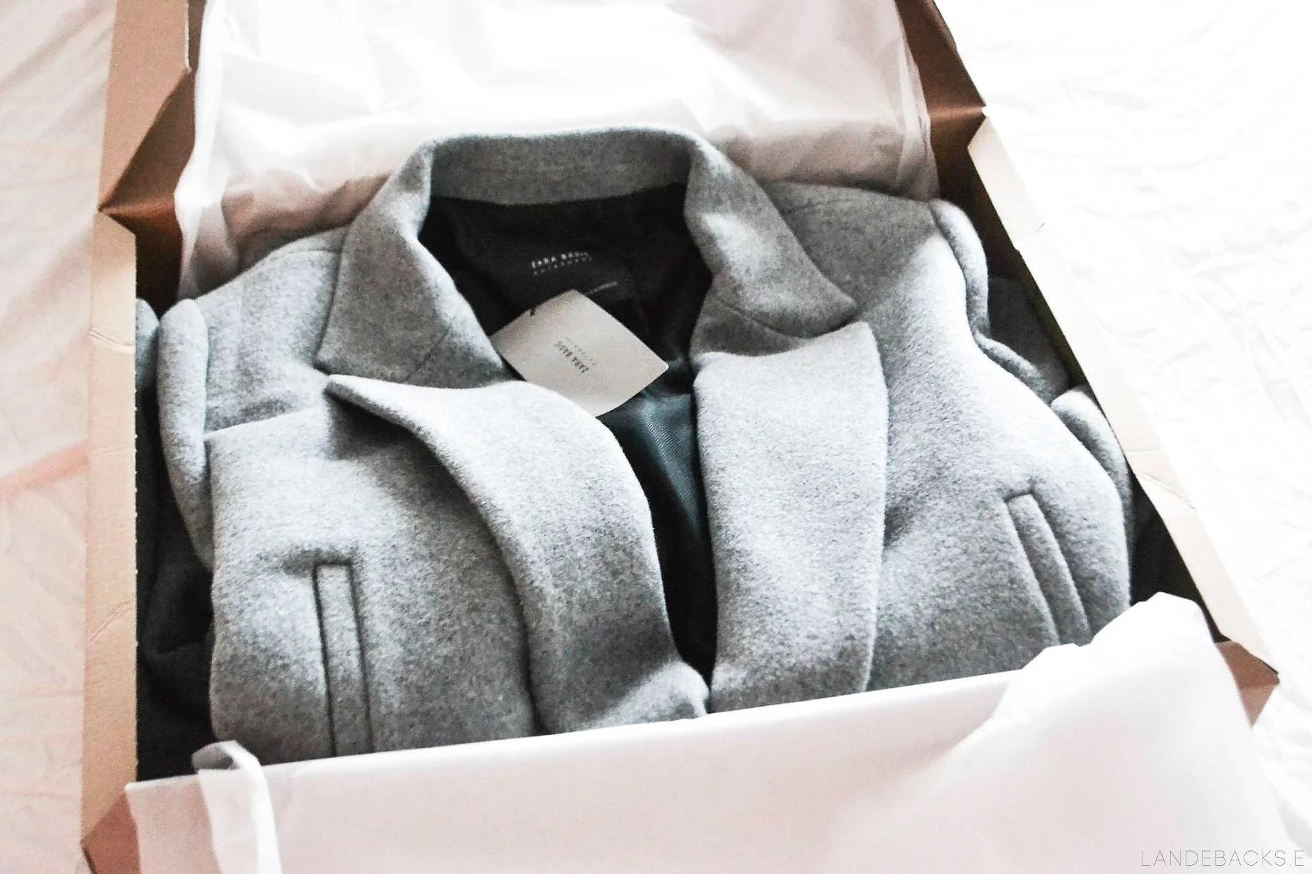 The perfect grey coat