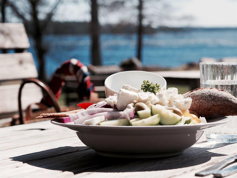 Lunch vid Borasjön