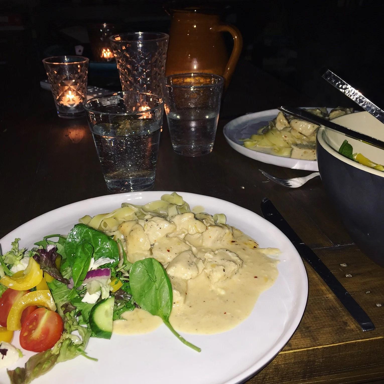 Dinner dejt med lovie