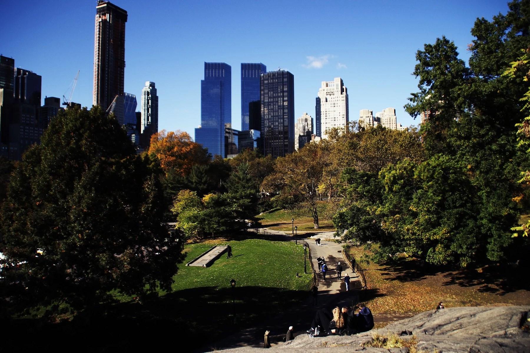 Dag ett - Central Park