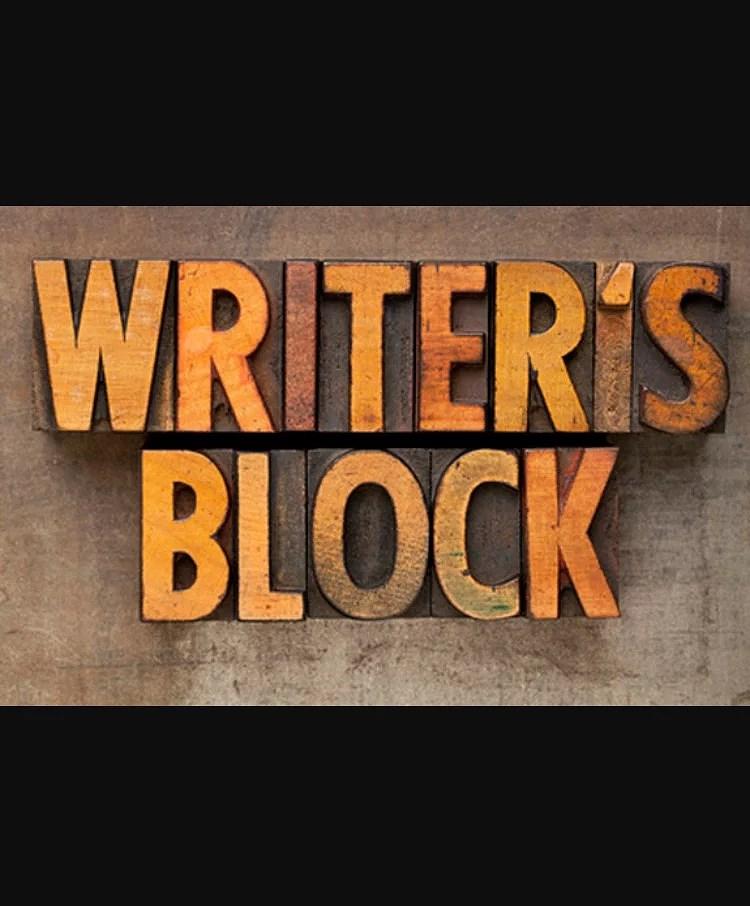WritersBlock.... efterfulgt af alt for mange tanker🙊